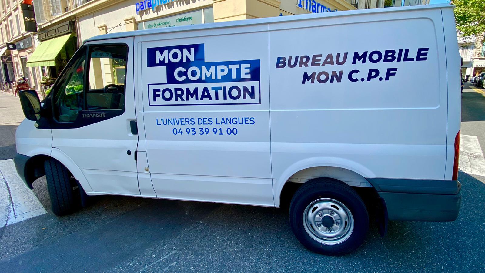 Notre présence chez vous avec notre Bureau Mobile
